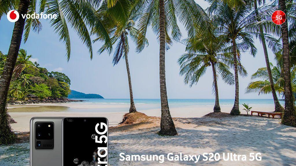 El 5G ha llegado para quedarse: Vodafone trae en exclusiva la última tentación de Samsung