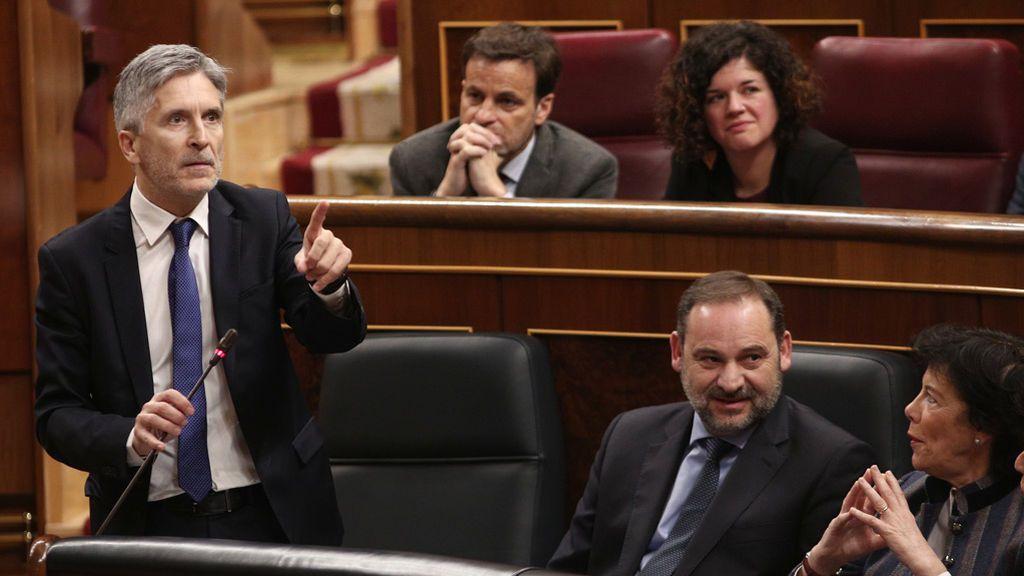 Unidas Podemos rechaza los planes de Marlaska sobre inmigración y surgen las primeras tensiones en el Gobierno