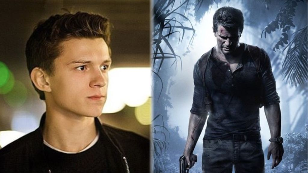 Tom Holland y Uncharted 4