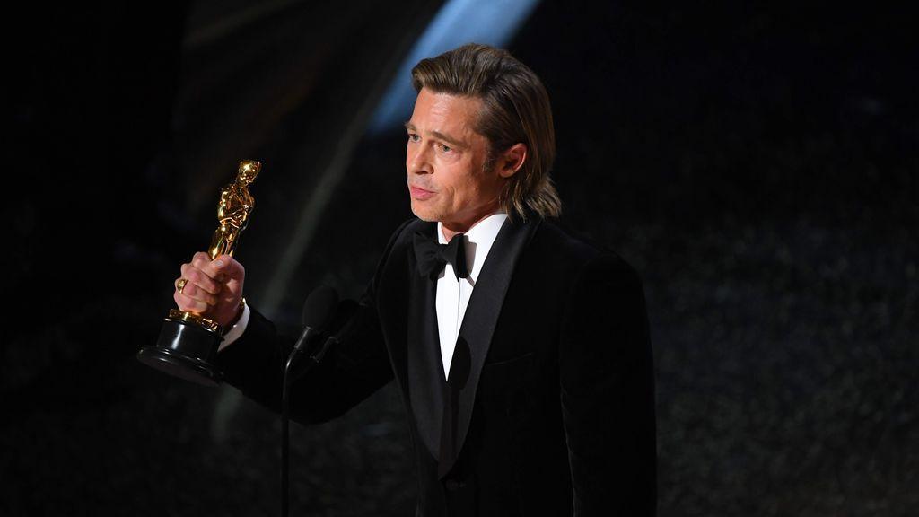 Brad Pitt, durante su discurso en los Oscar 2020