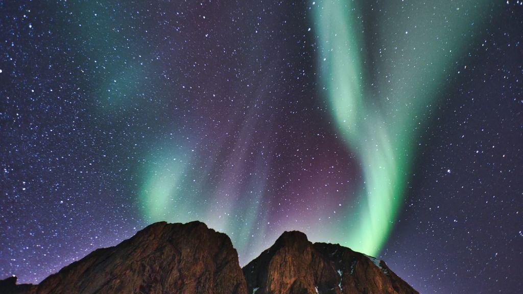 Una fractura en el campo magnético de la Tierra deja las auroras boreales más raras vistas en años