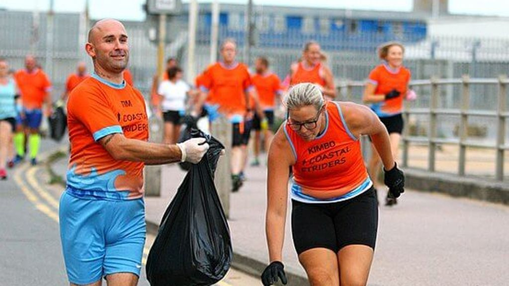 Plogging, el deporte que lucha contra el cambio climático