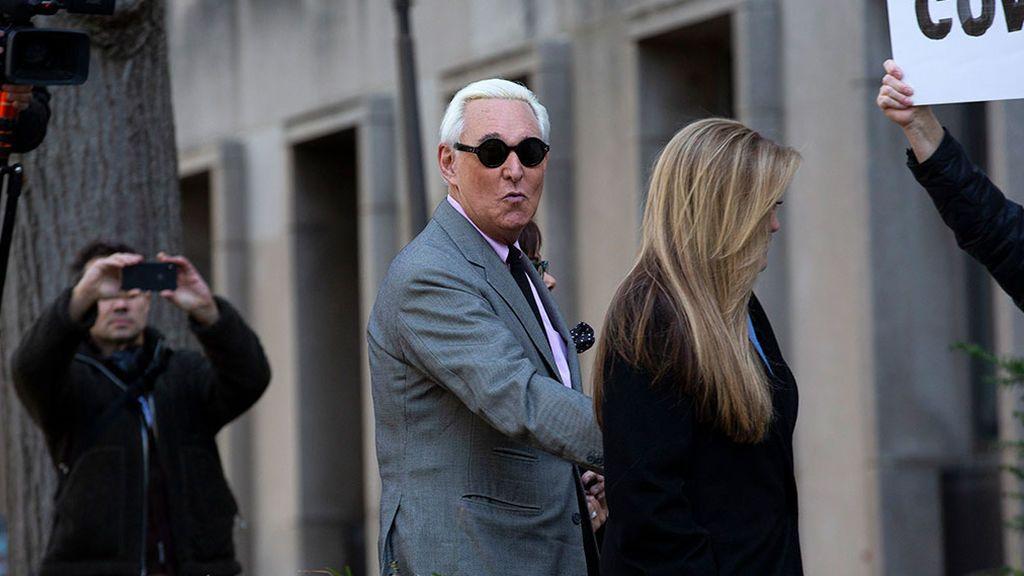 Roger Stone, asesor de Trump, condenado por mentir al Congreso y manipular testigos