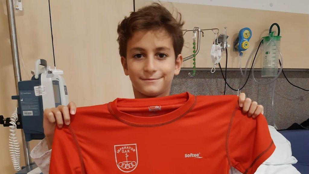 Tiago es un apasionado del fútbol