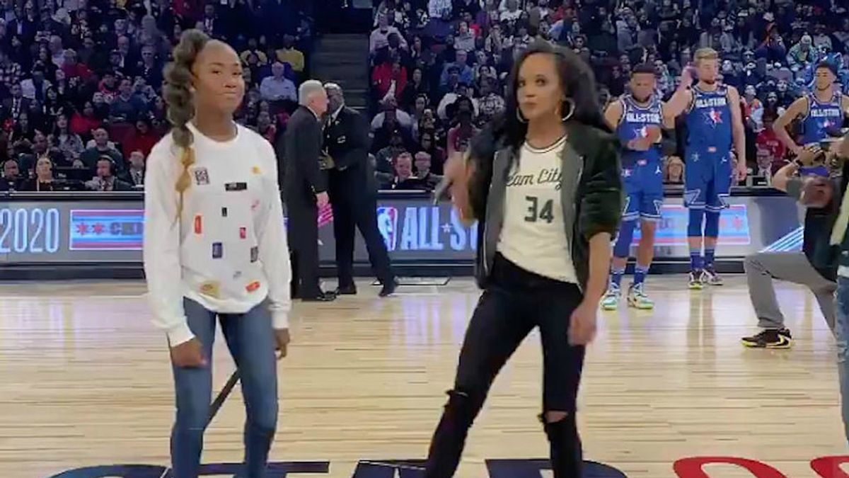 El 'Renegade dance', la coreografía de una niña de 14 años que cautiva a la NBA o el New York Times