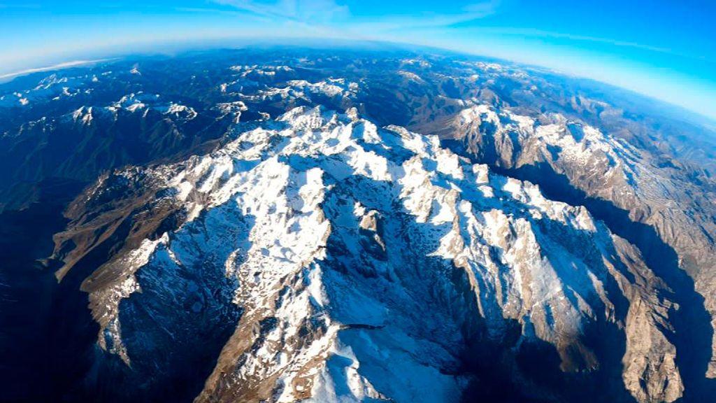 Los globos vuelven a sobrevolar los Picos de Europa después de 30 años