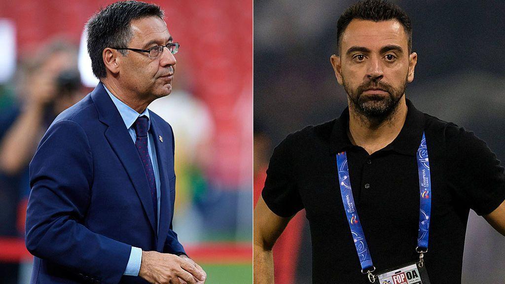 Bartomeu descartó a Xavi para el banquillo del Barça porque tenía que esperar a junio