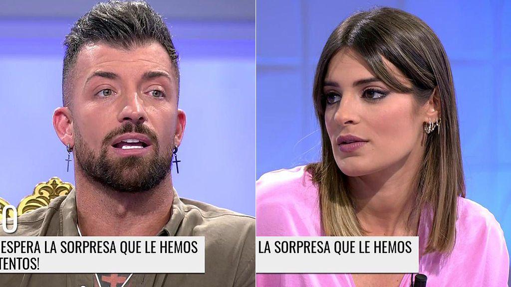 El cara a cara de Susana y Rubén