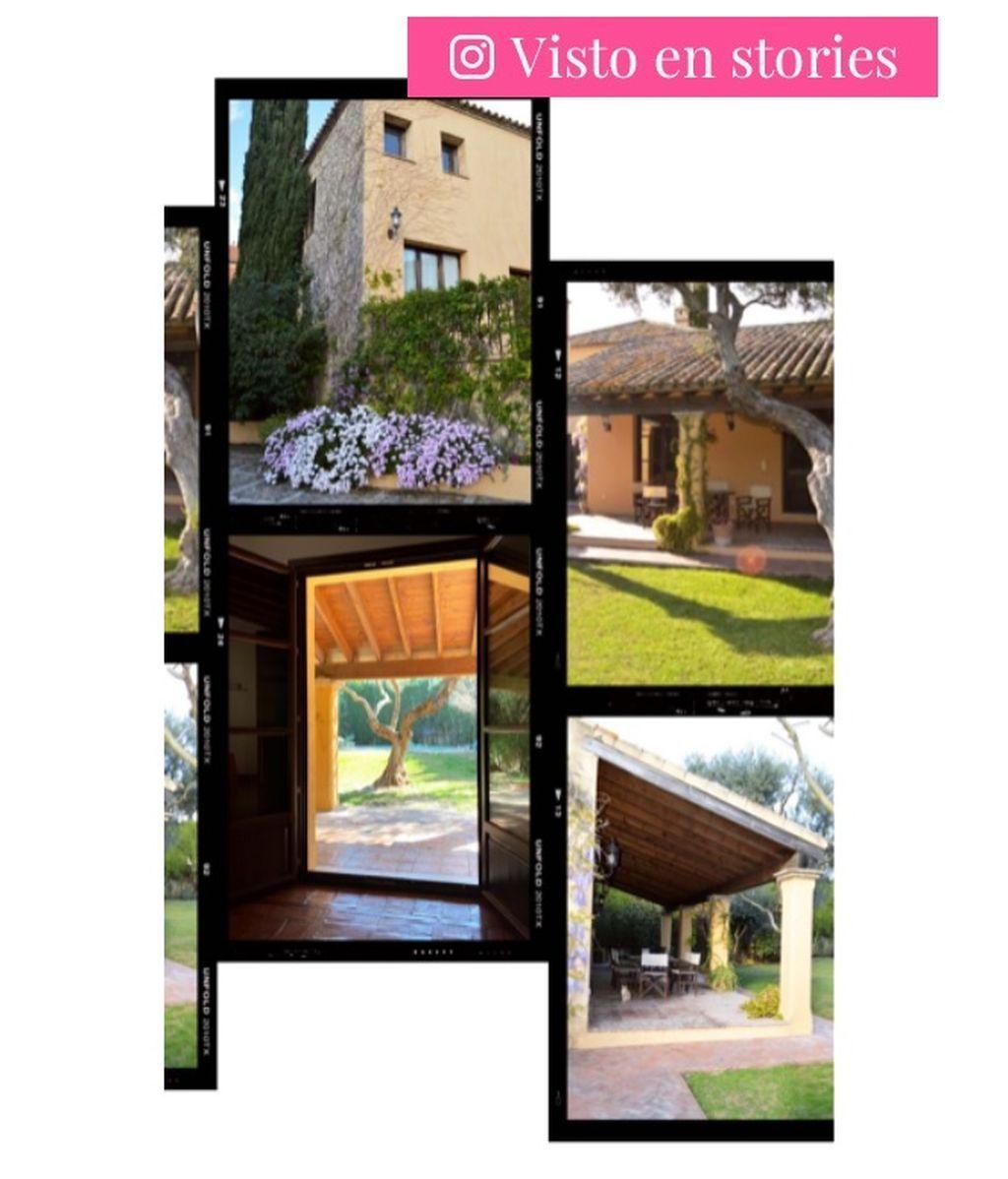 Los exteriores de la nueva casa de Rocío Osorno