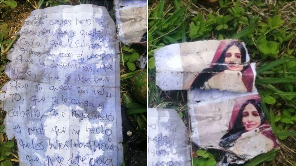 Denuncia que una joven intenta un ritual en un cementerio con su foto rota para que le ocurran cosas malas