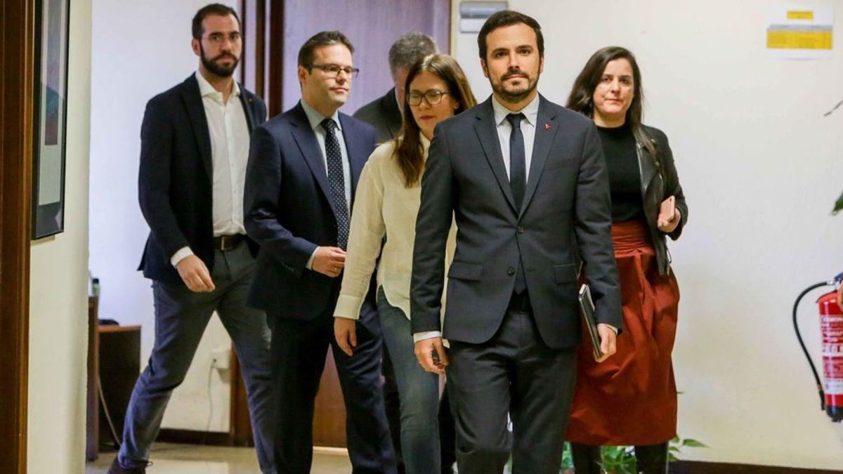 Izquierda Unida expulsa al Partido Feminista de España de la coalición