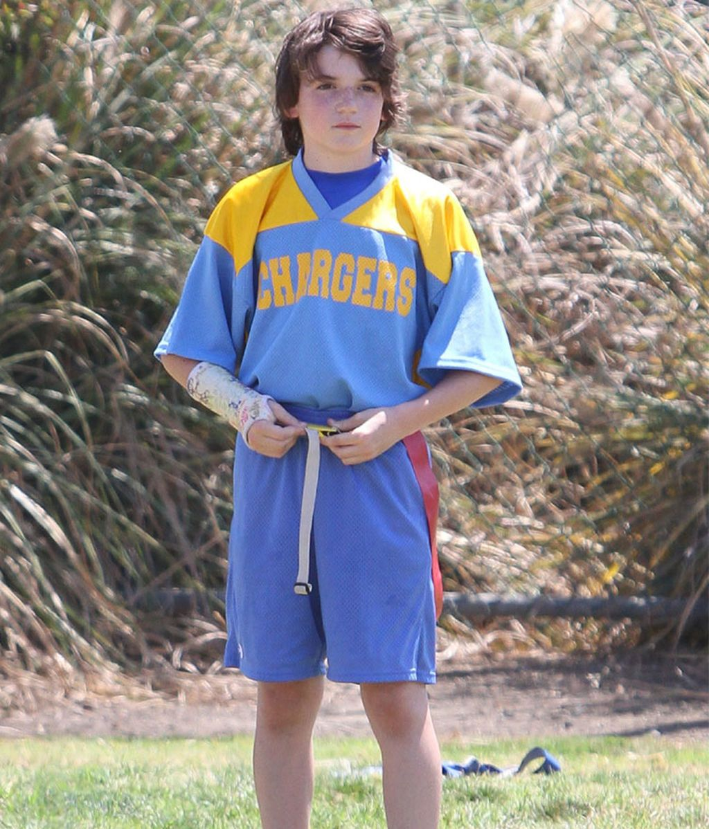 Liam, hijo de Harrison Ford y Calista Flockhart
