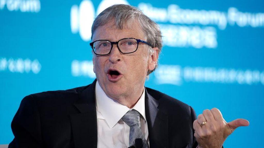 El presidente de China agradece la millonaria donación de Bill Gates para combatir el coronavirus