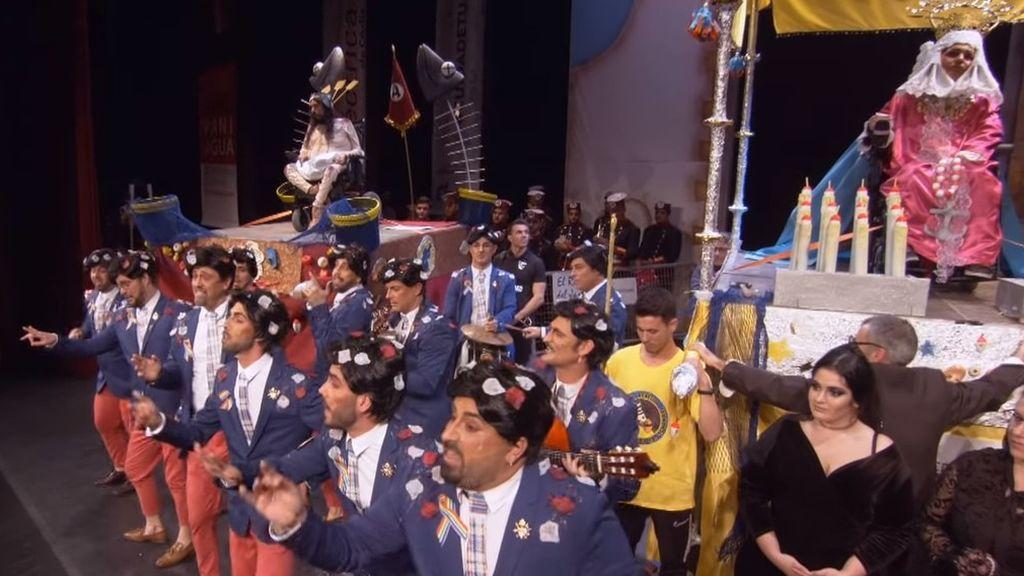 Parodias de la Semana Santa, un chiste de Ortega Lara y el coronavirus: las polémicas virales del Carnaval de Cádiz