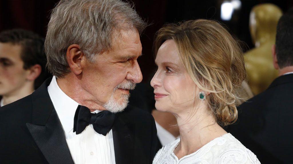 Harrison Ford y Calista Flockhart, en 2014