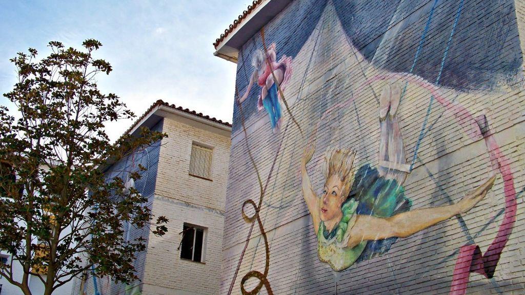 Los murales urbanos de Estepona