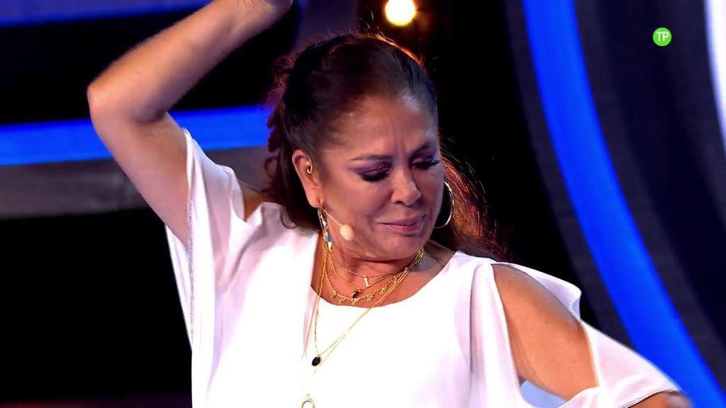 Así se lo está pasando Isabel Pantoja grabando 'Idol Kids'
