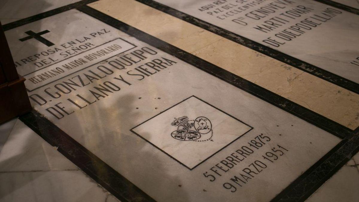 La Hermandad de La Macarena de Sevilla desmiente una posible exhumación de Queipo de Llano