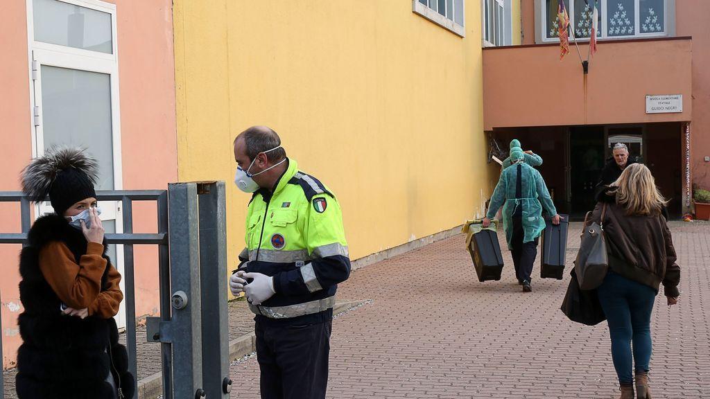 Muere la tercera víctima por coronavirus en Italia