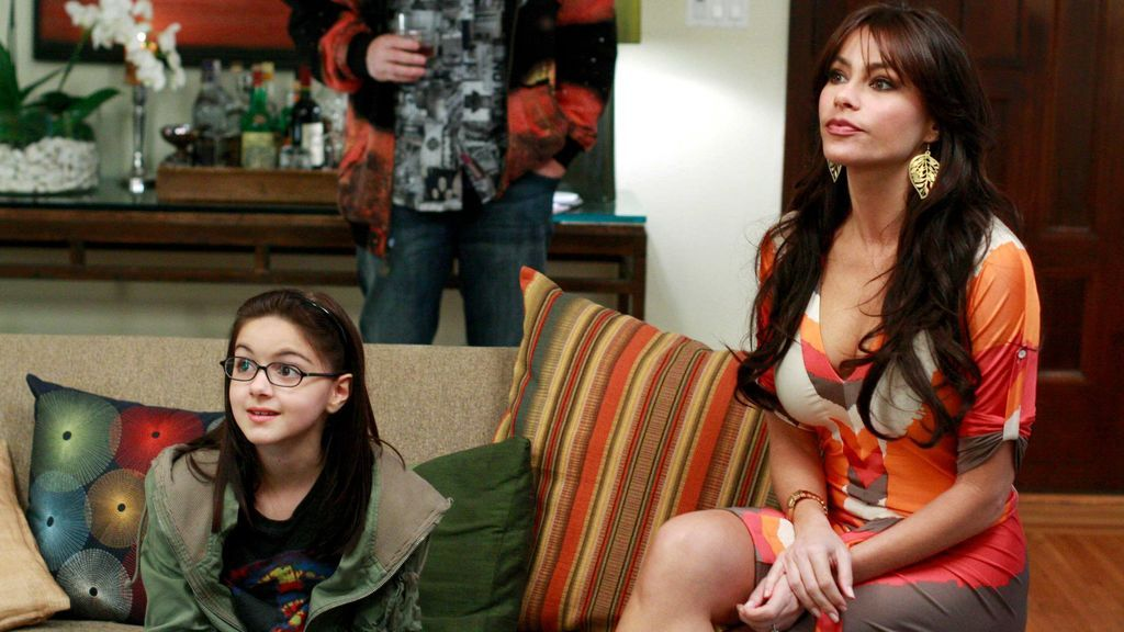 Sofia Vergara y Ariel Winter en 'Modern Family'