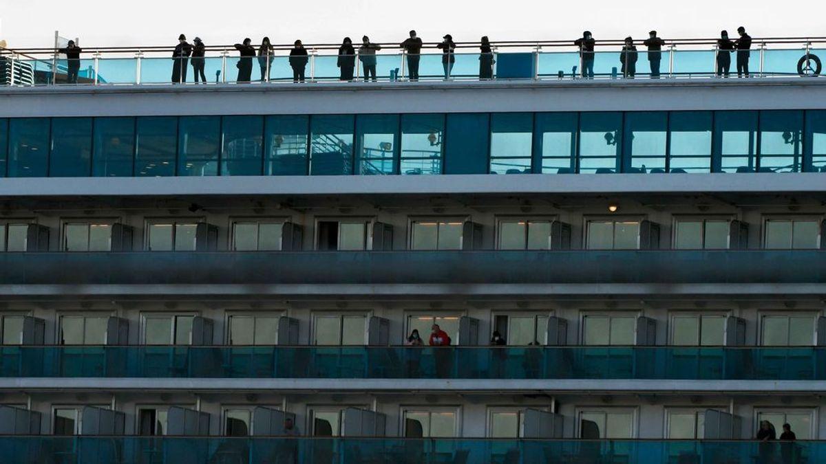 Tercera muerte en el crucero 'Diamond Princess', aislado en Yokohama por el nuevo coronavirus
