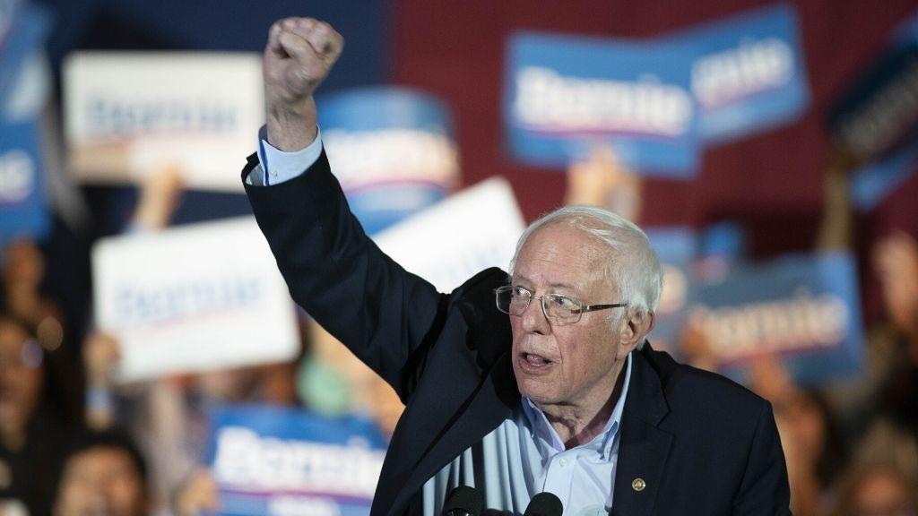 Sanders arrasa a sus rivales en los caucus demócratas de Nevada y consolida sus opciones