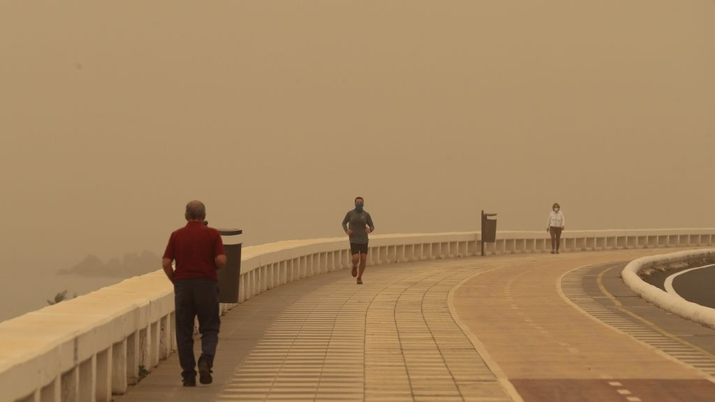 Alerta en Canarias por la calima