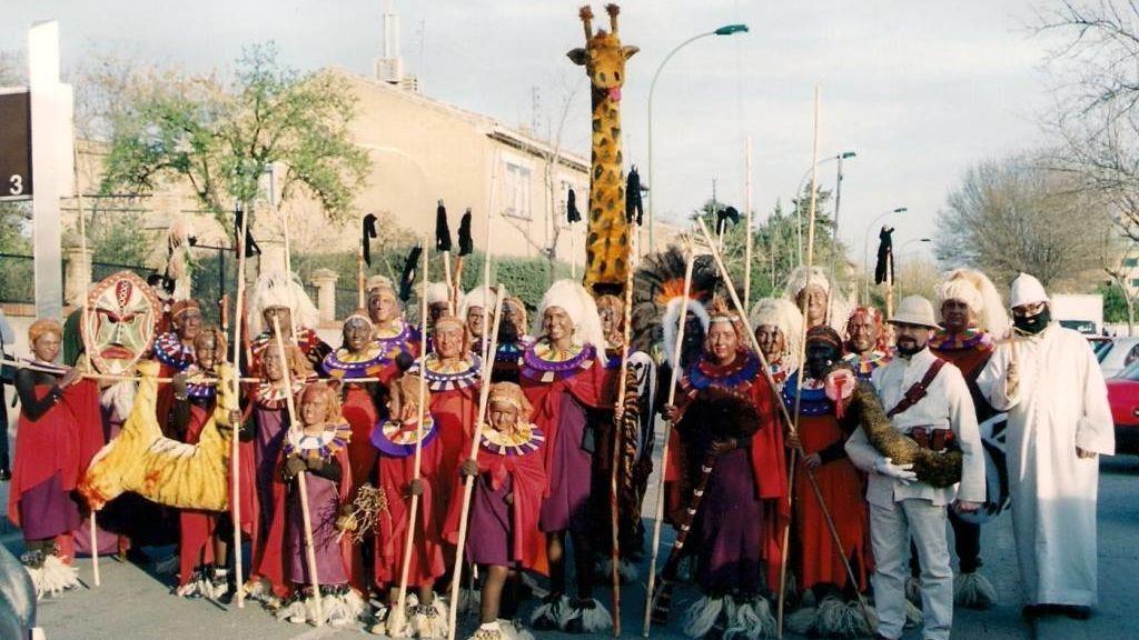 'Tribu Masái', carnaval 2000