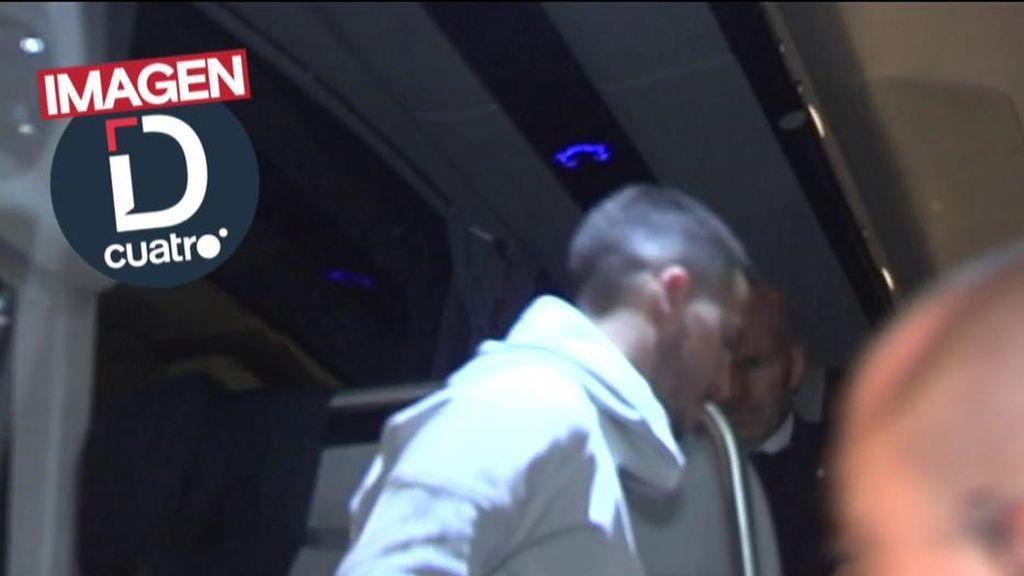 El gesto de Zidane con Hazard tras conocerse su lesión: 'palmadita' y ánimos a su jugador