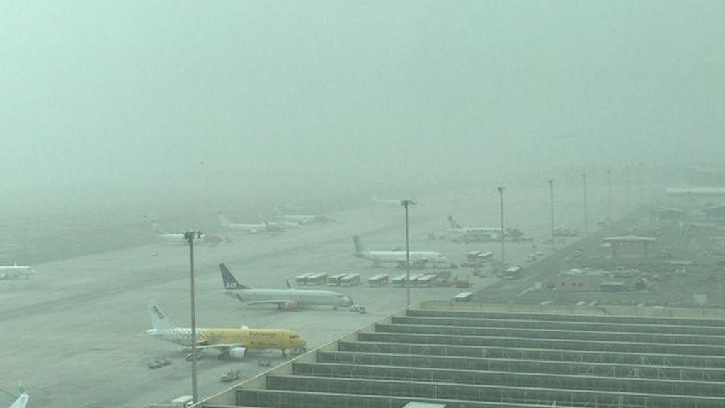 Cerrados todos los aeropuertos de Canarias por la calima: no se permite el tráfico aéreo con el archipiélago