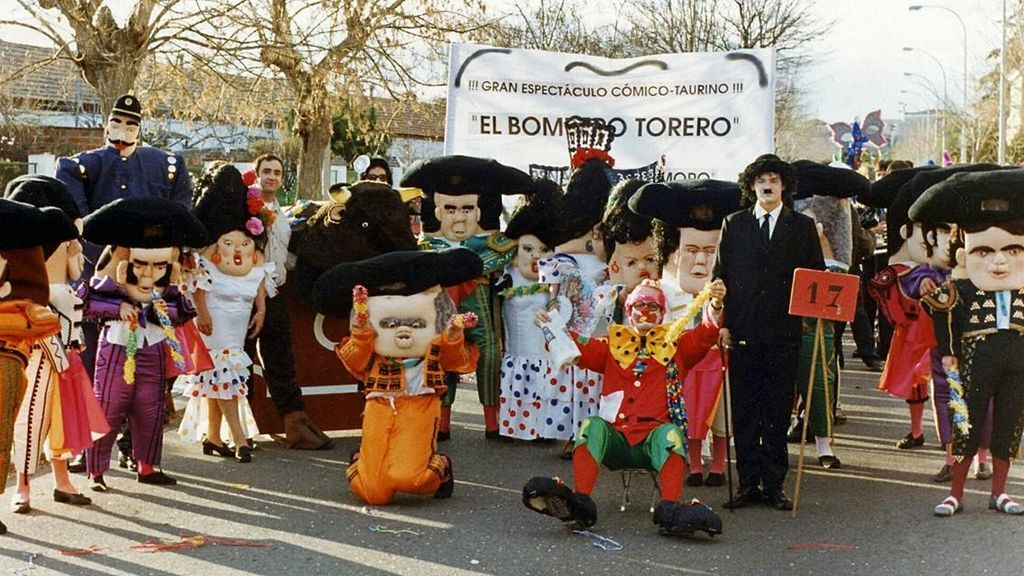 'El bombero torero', carnaval 1995