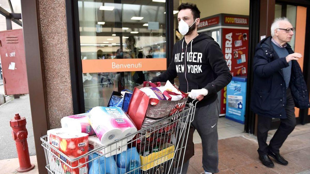 Italia echa el cierre ante el coronavirus
