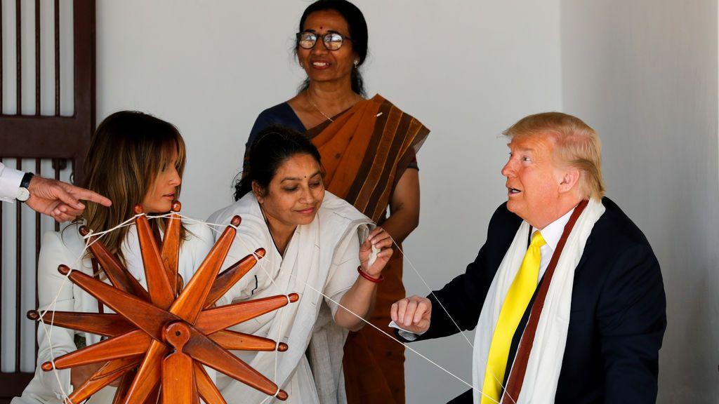 Visita de Trump a India