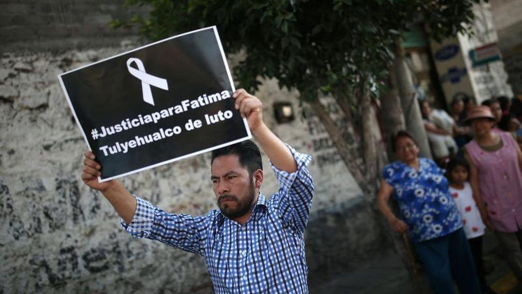 Los presuntos asesinos de la niña Fátima en México piden protección ante las fuertes amenazas