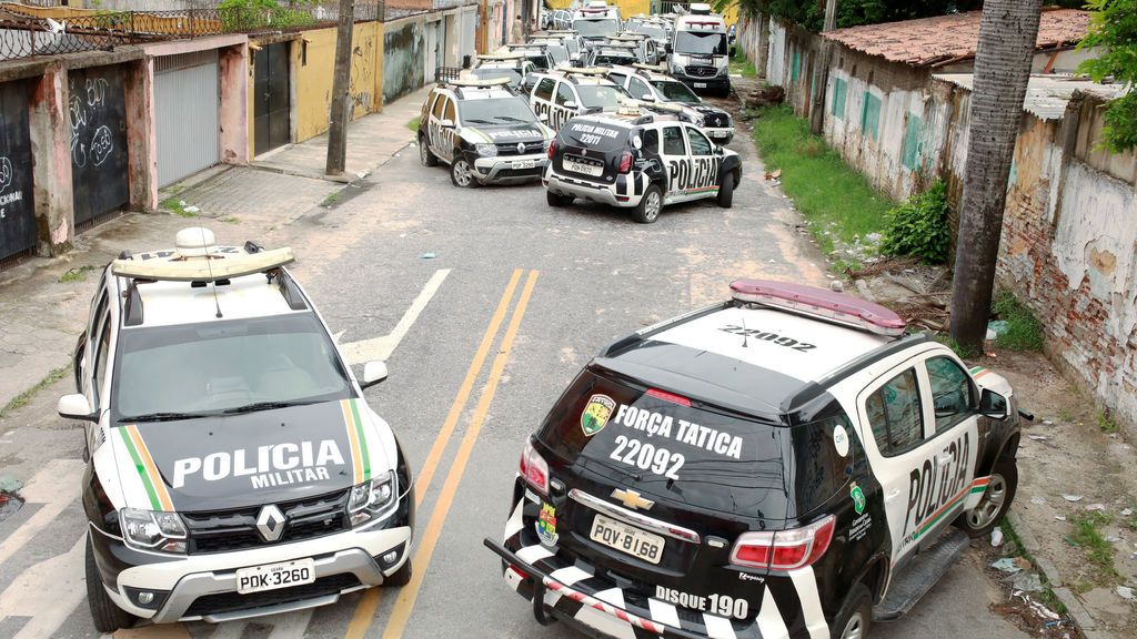 122 asesinatos en el noreste de Brasil en cuatro días por la huelga de policía