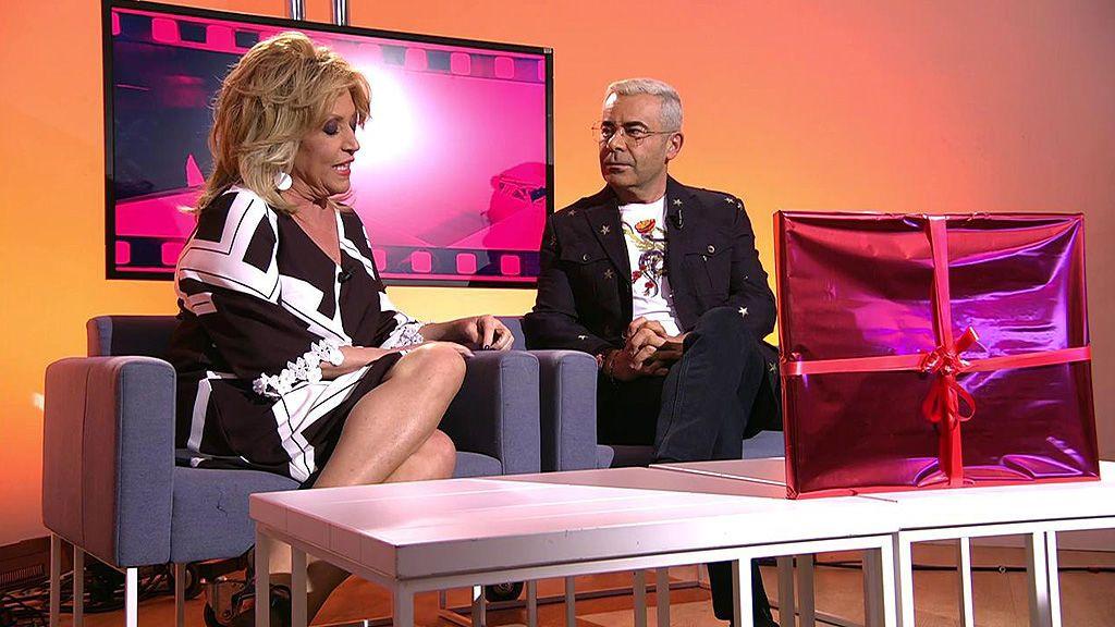 Lydia Lozano se confiesa con Jorge Javier Vázquez