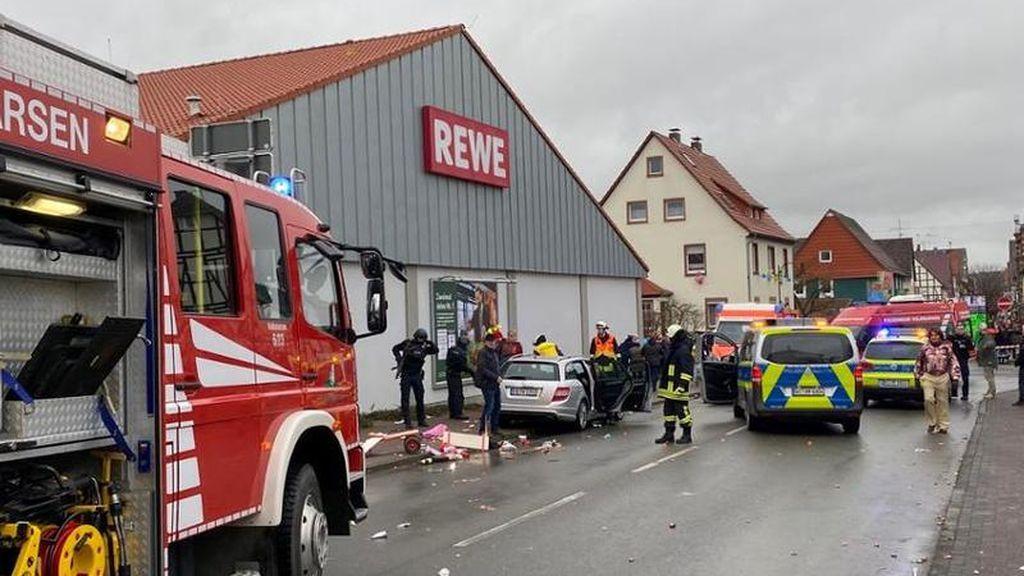 Atropello múltiple durante un desfile de Carnaval en Alemania