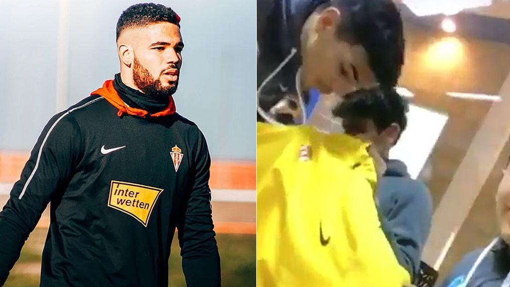 """El Ibiza expulsa a varios recogepelotas por enviar un vídeo racista y con burlas al portero del Sporting B: """"Inmigrante"""""""