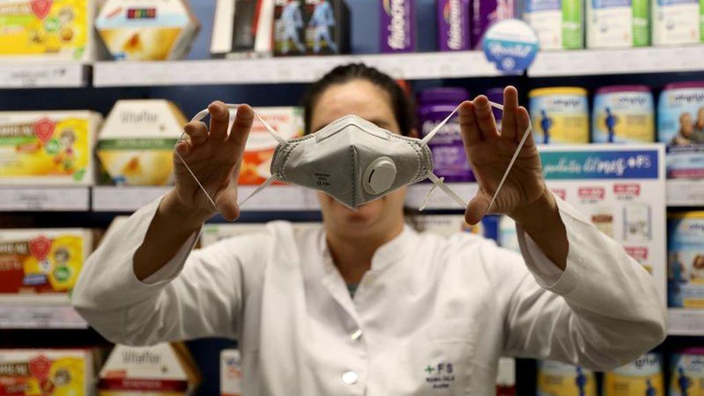 """La mascarilla N95, recomendada por el Gobierno y la OMS, está """"agotada a nivel mundial"""""""