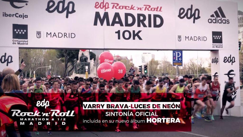 'Luces de neón' de Varry Brava: sintonia oficial de EDP Rock n Roll Madrid Maratón