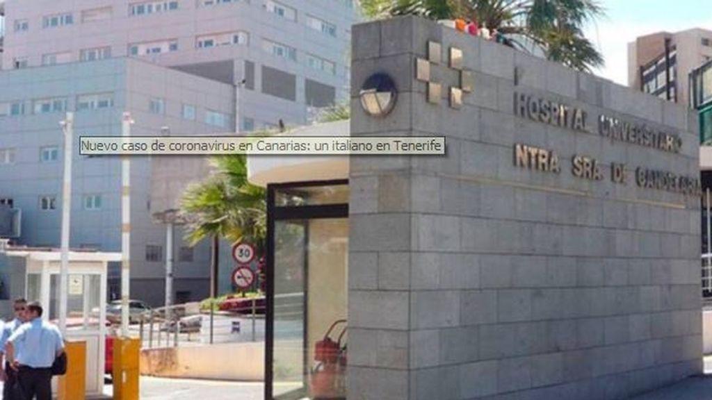 Un médico italiano, positivo por coronavirus en Tenerife