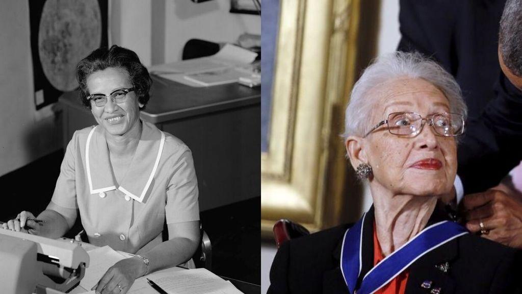 """La matemática Katherine Johnson, una de las """"figuras ocultas"""" de la NASA, ha fallecido a la edad de 101 años"""