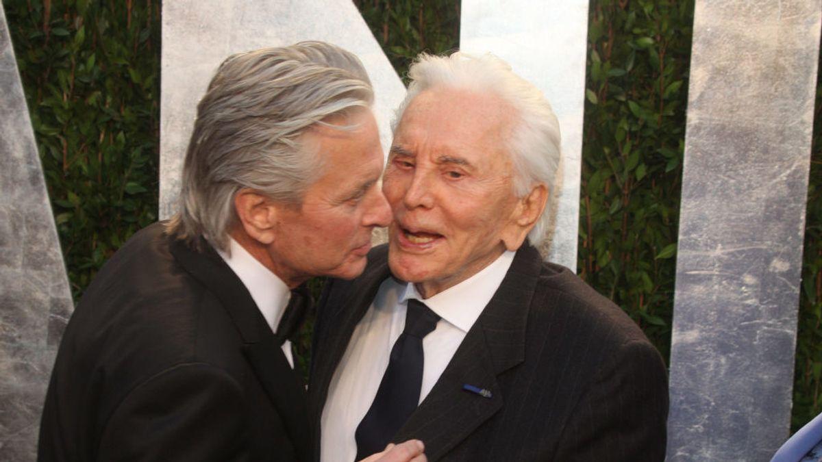 Kirk Douglas y su hijo Michael