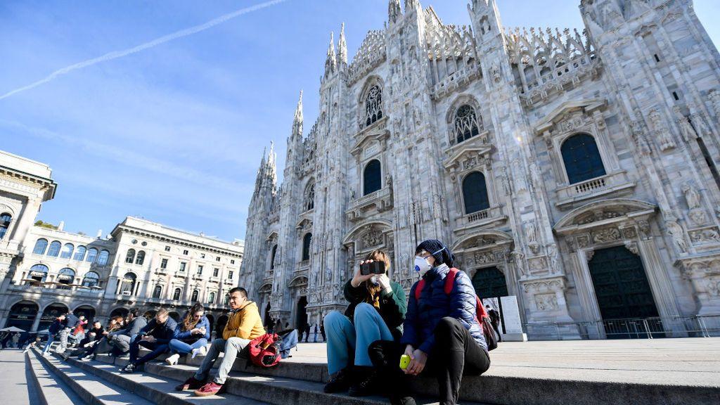 Los aficionados del Valencia CF que viajaron a Milán  reciben recomendaciones ante posibles síntomas de coronavirus