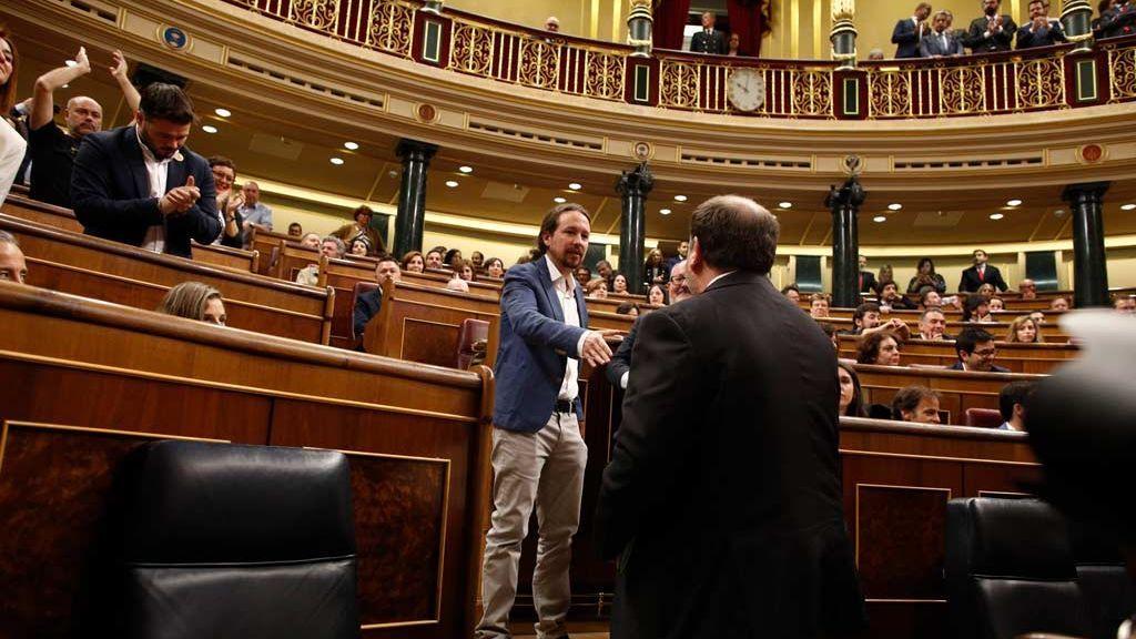 """Iglesias no descarta reunirse con Junqueras en la cárcel: El Gobierno """"no pueden vetar"""" a los interlocutores de ERC"""