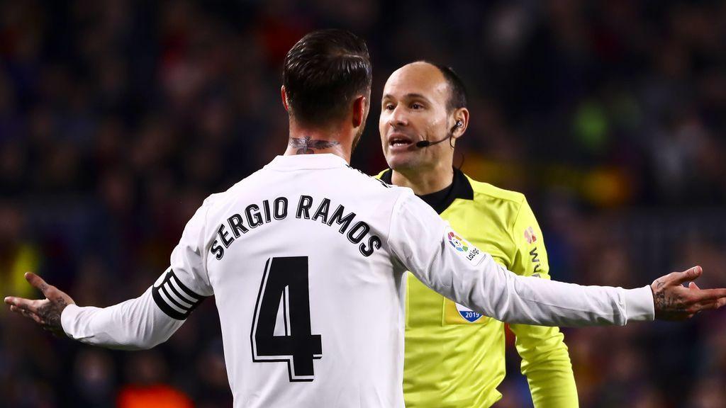 Mateu Lahoz será el árbitro del Real Madrid - Barcelona en el próximo Clásico