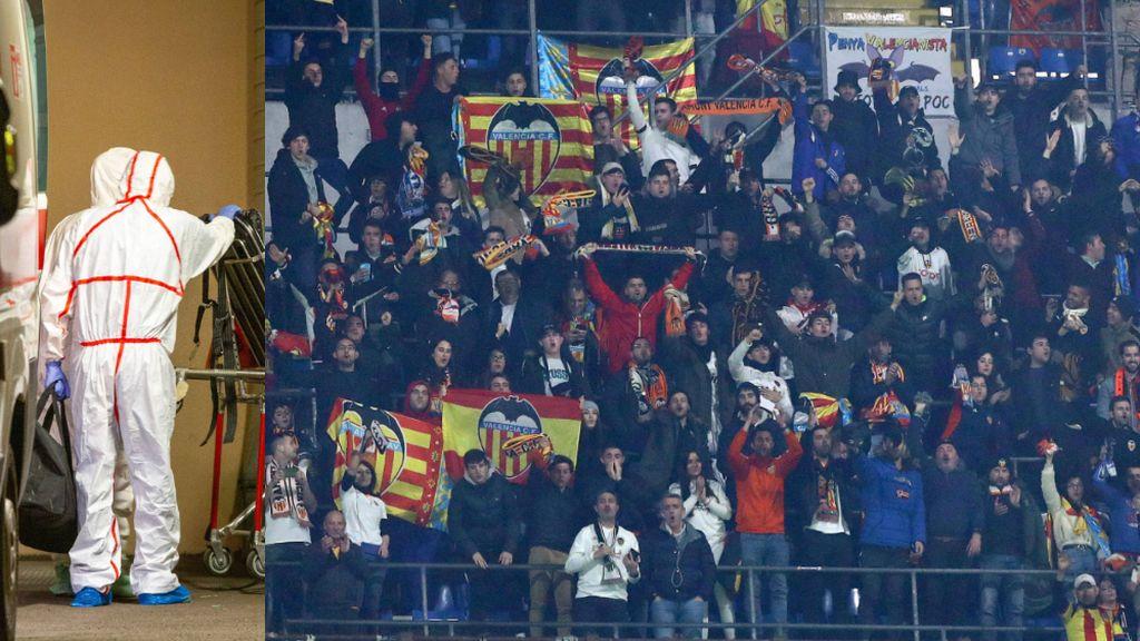 Las recomendaciones del Valencia a sus aficionados que viajaron a Milán para presenciar el partido ante el Atalanta en relación al coronavirus
