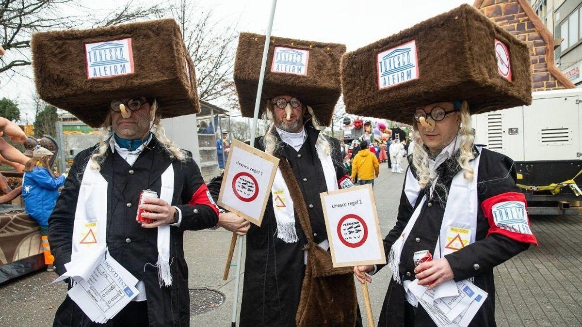 Carnaval antisemita en Bélgica: judíos representados como cucarachas