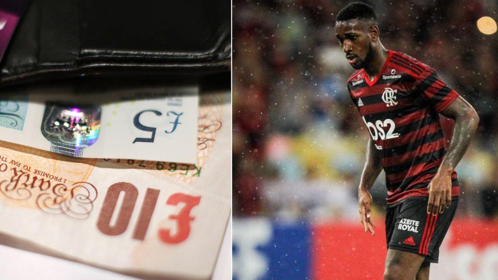 Un futbolista del Flamengo recupera su cartera perdida gracias a las redes sociales