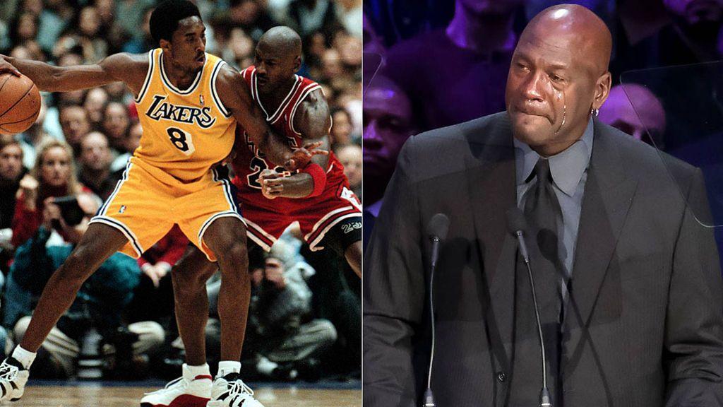 """El discurso de Michael Jordan en el funeral de Kobe Bryant: """"Quise ser el mejor hermano mayor posible"""""""